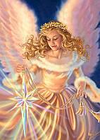 """Набор алмазной вышивки (мозаики) """"Ангел со звездой"""". Художник Dona Gelsinger"""