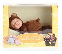 Кукла Анны Геддес (Anne Geddes) Мишка шоколадный 23 см