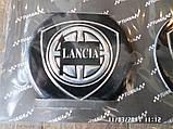 Наклейка эмблема LANCIA на колесный диск / колпак d 60 мм, фото 3