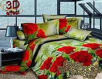 Комплект постельного белья 3D поликоттон ТМ Sveline Tekstil (Украина) семейный ZHY450