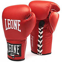 Боксерские перчатки Leone Supreme Red 8 ун.