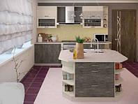 Кухонный не дорогой комплект для малогабаритных квартир по доступной цене модель размер под зак Мила