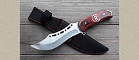 Охотничий нож Волк А-0027, с фиксированным клинком, лезвие высокого качества, фото 1