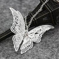 Нежный женский кулон Бабочка