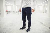 Штаны карго мужские, брюки, супер качество FF т-синие