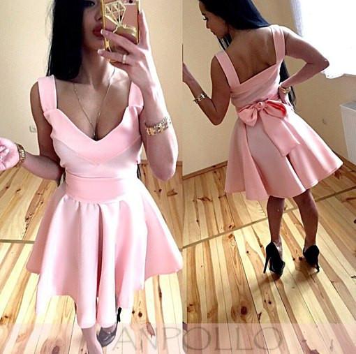 Платье пишное  БАНТ вырез 42 44 46 48 50 Р, фото 1