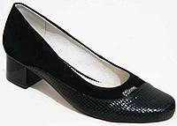 Туфли женские большого размера кожаные, женские туфли 40-44 от производителя модель МИ9411-5, фото 1