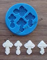 Молд для мастики Набор маленьких крестиков