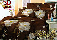 Комплект постельного белья 3D поликоттон ТМ Sveline Tekstil (Украина) двуспальный PC7912