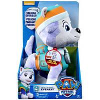 Мягкая игрушка -Щенок Эверест интерактивный -Щенячий патруль -Paw Patlol -35 см, фото 1