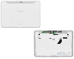 Задняя часть корпуса (крышка) для планшета Samsung P7500 Galaxy Tab 10.1 White