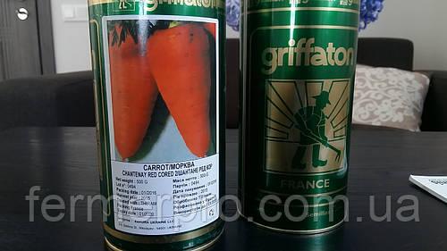 Семена моркови Шантане Ред Кор от  Гриффатон 500 грамм