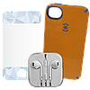 3 в 1 - Чехол Наушники Плёнка iPhone 4G/S