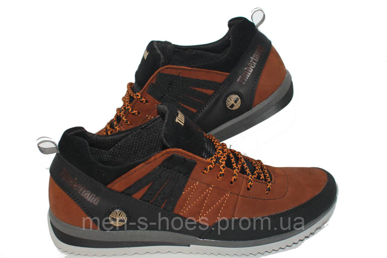 Кожаные кроссовки Timberland  Orange