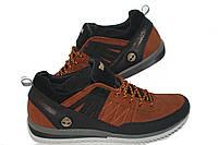 Кожаные кроссовки Timberland  Orange, фото 1