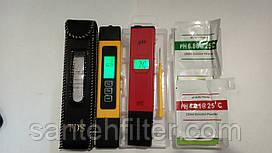 ТДС метр - кондуктометр с подсветкой + PH метр с АТС и подсветкой