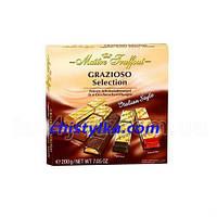 "Шоколад ""Grazioso Selection"" 4 in 1   200 г"