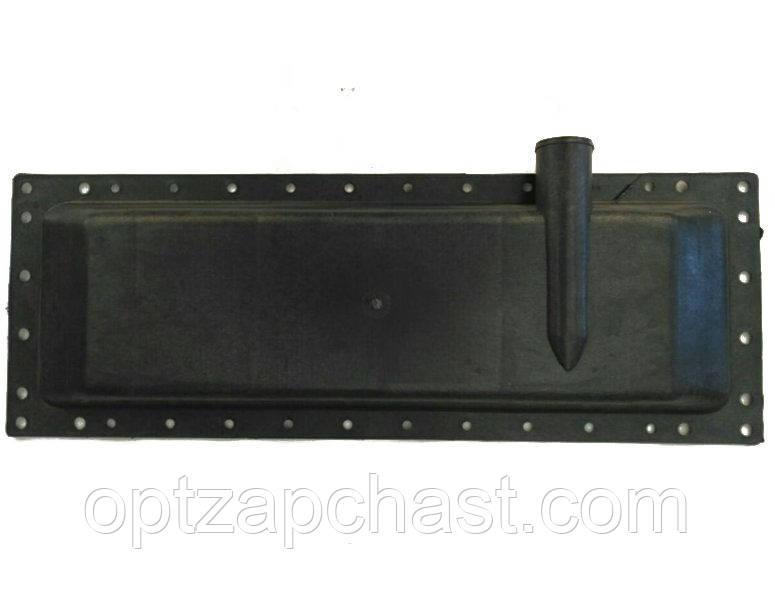 Бачок радиатора ЮМЗ нижний (пластмасса)