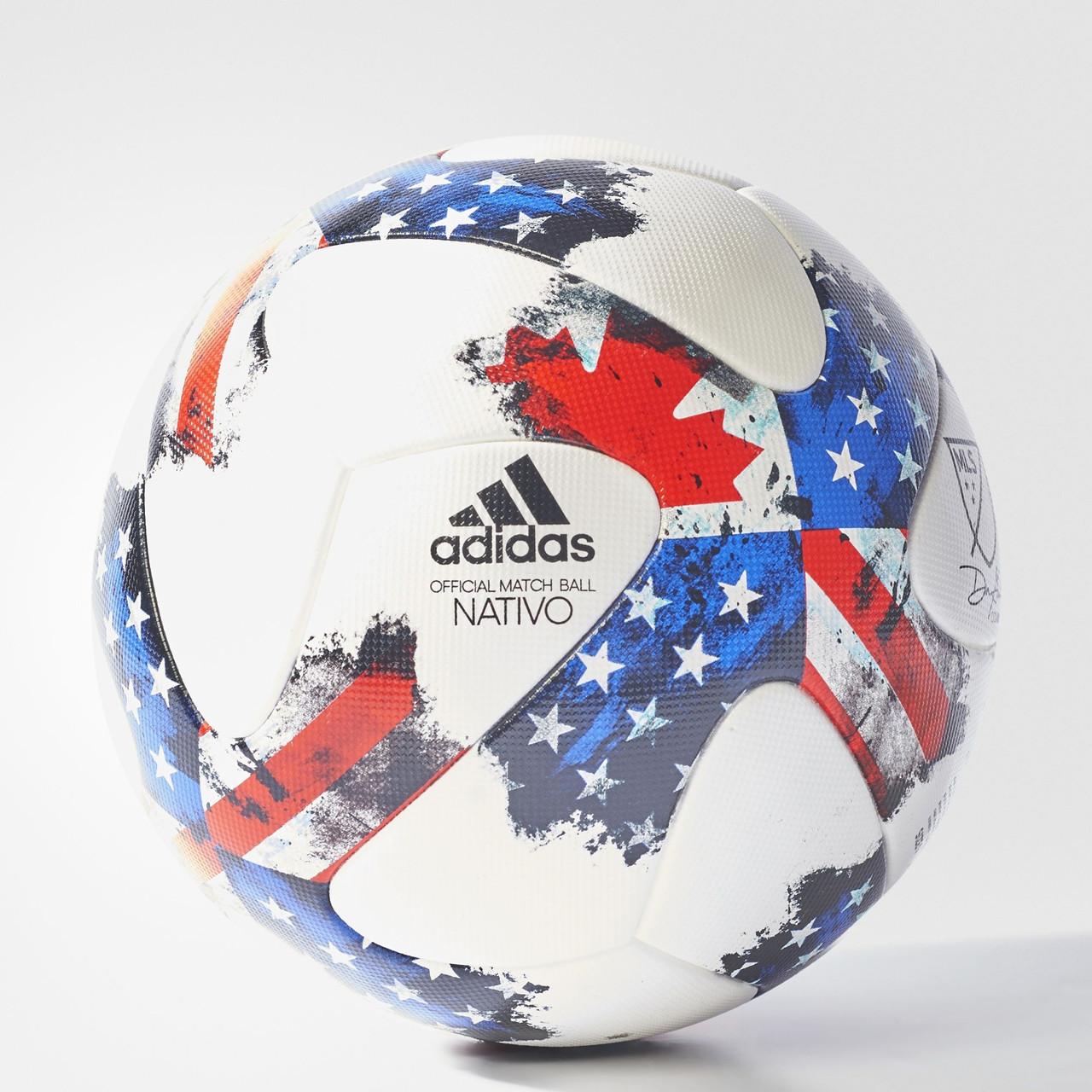 Купить Футбольный мяч Adidas MLS (Артикул  AZ3208) в интернет ... 6d20a2f7801d5
