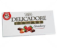 "Молочный шоколад «Baron Delicadore Strawberry"" Клубника 200 г"