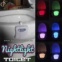 """Подсветка для унитаза с датчиком движения - """"Toilet Nightlight"""", фото 1"""