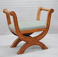 Кушетка sofa CE-107. Дерево манго, ткань канвас. Кушетка в Восточном стиле. Ручная работа. Ganesha Design.
