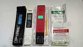 ТДС метр - кондуктометр  + PH метр с АТС и подсветкой