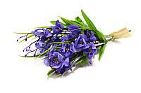 Весенний букет фиолетово-синий