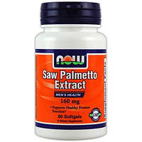 Saw Palmetto 160 мг NOW​, 60 капсул