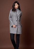 Женское молодежное пальто свободного покроя
