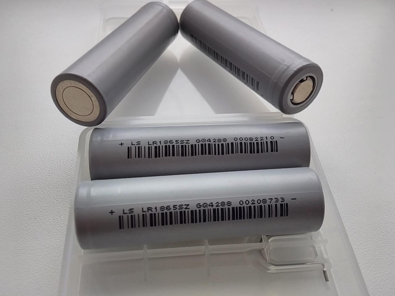 Высокотоковый Аккумулятор Lishen 18650 li-ion 2500mAh (LR1865SZ) 10C 2