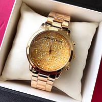 Часы Майкл Корс с камушками сваровски копия