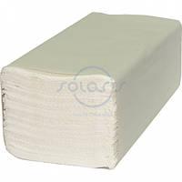Полотенца листовые, V-укладка, белые 2-х слойные, размер 20х22см целлюлоза, (150шт./уп.)