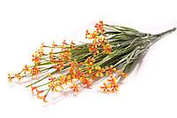 Всенние мелкие цветочки (оранжевые)
