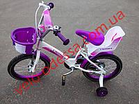 """Детский двухколесный  велосипед KIDS BIKE CROSSER 14"""""""