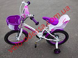 Детский двухколесный велосипед kids bike crosser 16 дюймов