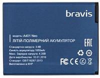 Аккумулятор (Батарея) для Bravis Neo A401 (1650 mAh) Оригинал