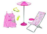 Набор Солнечные ванны для куклы Беби Борн Baby Born Zapf Creation 822395