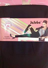 Лосины женские  беcшовные JuJuBe XL-5XL черные