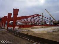Проектирование и производство строительных металлических конструкций