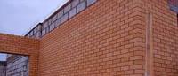 Строительство подпорной стенки из кирпича