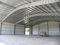 Строительство Навес для стройматериалов