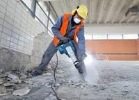 Демонтаж бетонных конструкций Демонтаж железобетонных