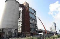 Демонтаж заводов, цехов, котельных, зданий