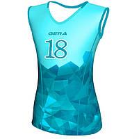 """Женская волейбольная майка GERA """"Broken Glass"""" (FG4)"""