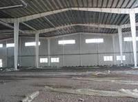 Строительство здания на основе рамных конструкций