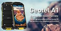 Geotel А1 IP67 Водонепроницаемый противоударный смартфон 4.5 3G Android7.0 1/8ГБ 13/2Mp