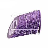 Сахарная лента-скотч для декора, 1 мм, фиолетовая