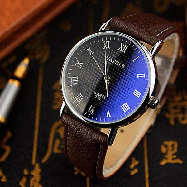 Мужские часы Yazole 278 черные