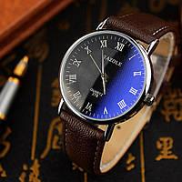 Мужские часы Yazole 278 черные, фото 1